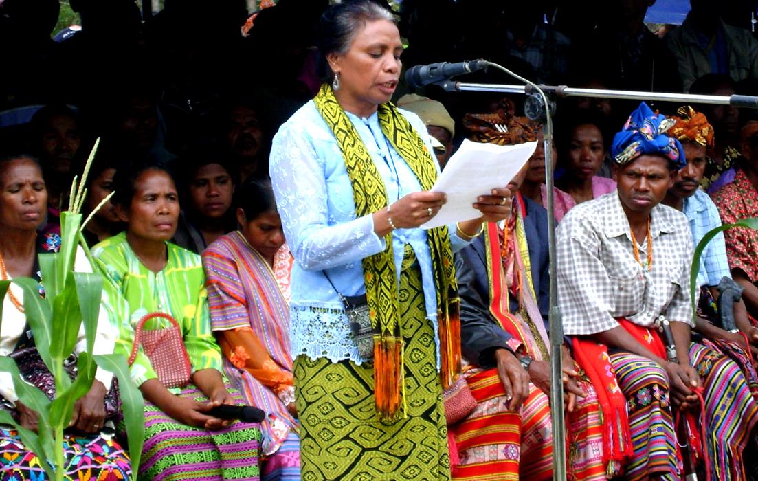 Siaran Pers Bersama AMAN SAMDHANA, Perjuangkan Tanah Leluhur, Aleta Ba'un Raih Goldman Enviromental Prize 2013.