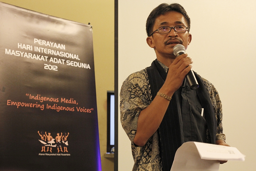Statement of Aliansi Masyarakat Adat Nusantara Consultation with the UN Special Rapporteur on the Rights of Indigenous Peoples