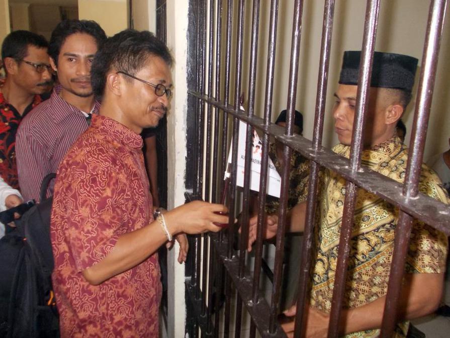 Sekjen AMAN menjadi Saksi Persidangan di Sumbawa