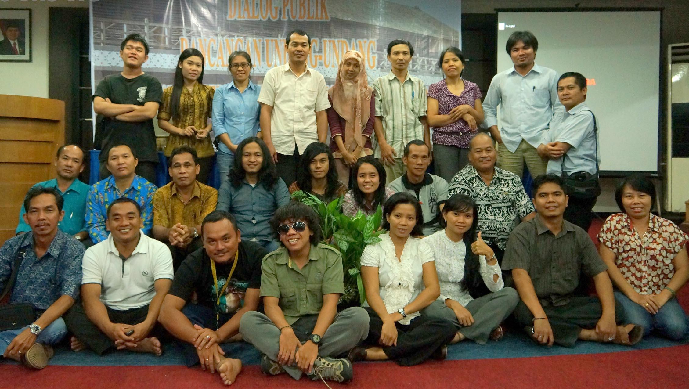 Konsultasi Nasional RUU PPHMA di Kalimantan Barat