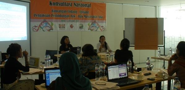 Aspirasi Kesetaraan Gender Dalam Konsultasi Draft RUU PPHMA