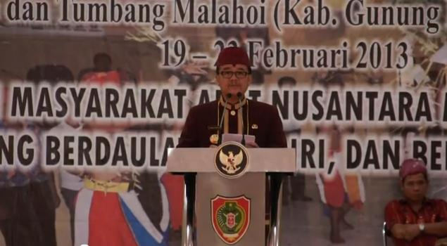 Rakernas-III Aliansi Masyarakat Adat Nusantara