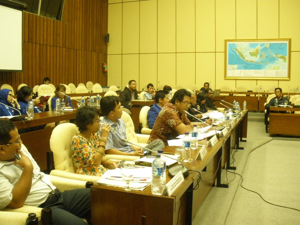 Rapat Dengar Pendapat Umum Perubahan UU 27/ 2007 tentang Pengelolaan Wilayah Pesisir dan Pulau-Pulau Kecil