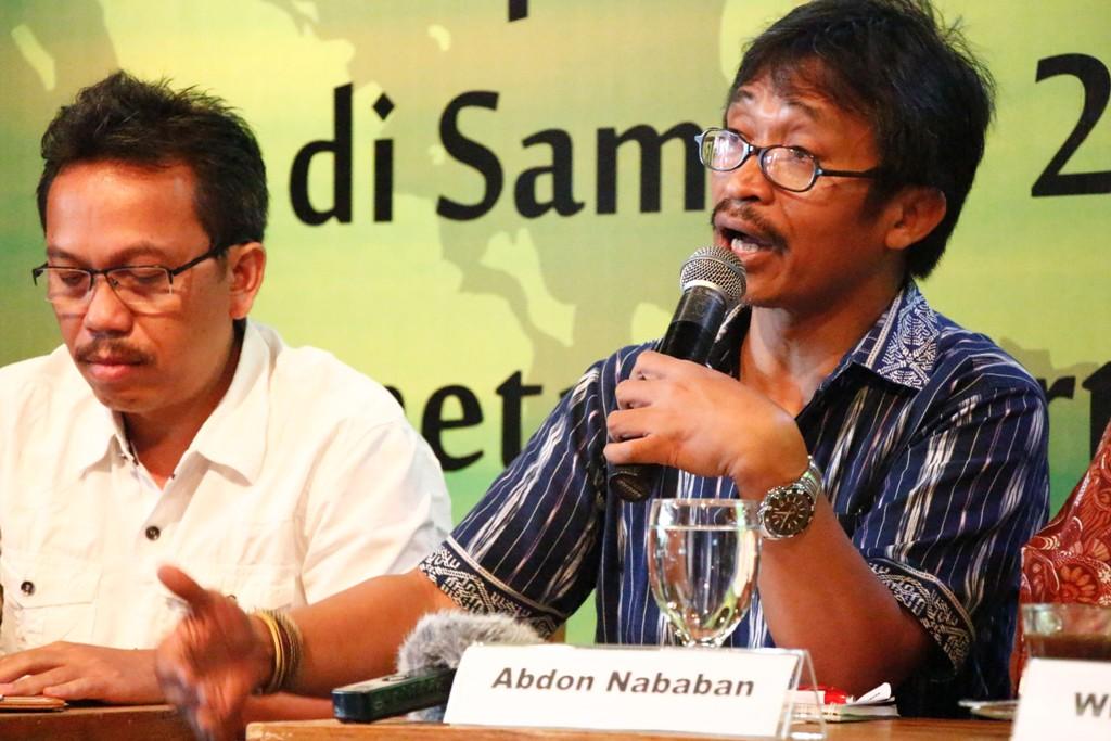 Pemaparan Hasil Konferensi Global Pemetaan Partisipatif Wilayah Adat