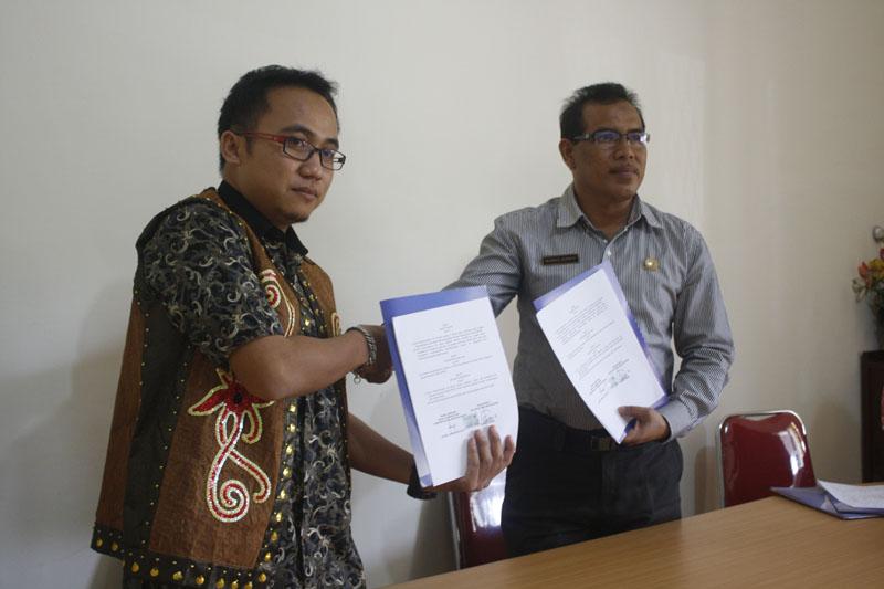 Nota Kesepahaman Perwakilan Komnas HAM dan PW AMAN Kalbar