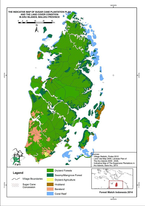 PRESS RELEASE: Hutan Alam di Kepulauan Aru Terancam Hilang