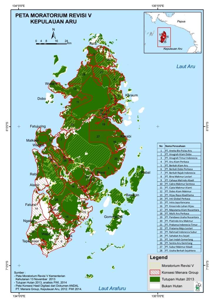Presiden Harus Turun Tangan Lindungi Ekosistem Hutan Kepulauan Aru