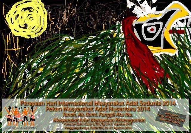 Undangan untuk Jurnalis_Liputan Pekan Masyarakat Adat Nusantara
