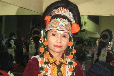 Wangi Indriya Meriahkan Acara Pekan Masyarakat Adat Nusantara