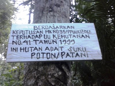 HALF-HEARTED RECOGNITION OF INDONESIA'S BEST FOREST   GUARDIANS