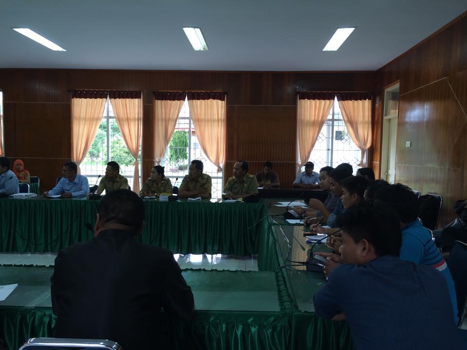 Dengar Pendapat DPRD Komisi II Kab Luwu Utara Bersama Pemerhati Masyarakat Adat