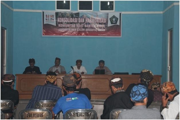 Satuan Adat Banten Kidul (SABAKI) Gelar Rapat Kerja