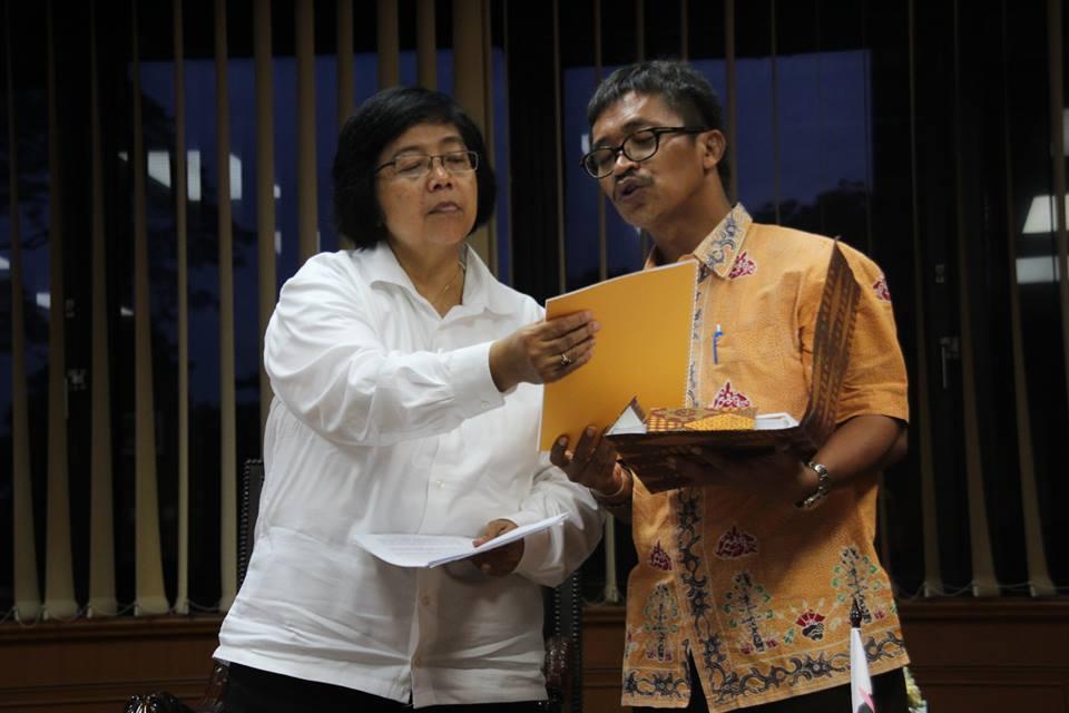Pengurus Besar AMAN Temui Menteri Lingkungan Hidup & Kehutanan