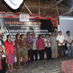 Penutupan Rakernas ke IV AMAN di Kampung Malaumkarta