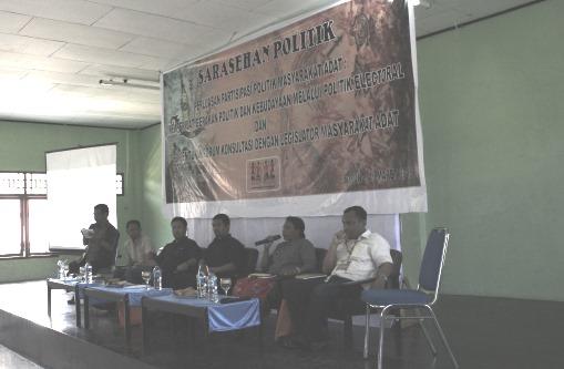 Peningkatan Perjuangan Masyarakat Adat Lewat Politik