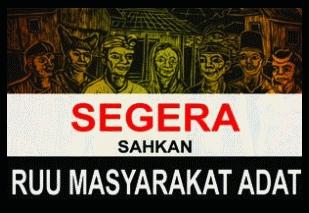 AMAN Tuntut Jokowi Penuhi Janji Hadirkan UU Masyarakat Adat