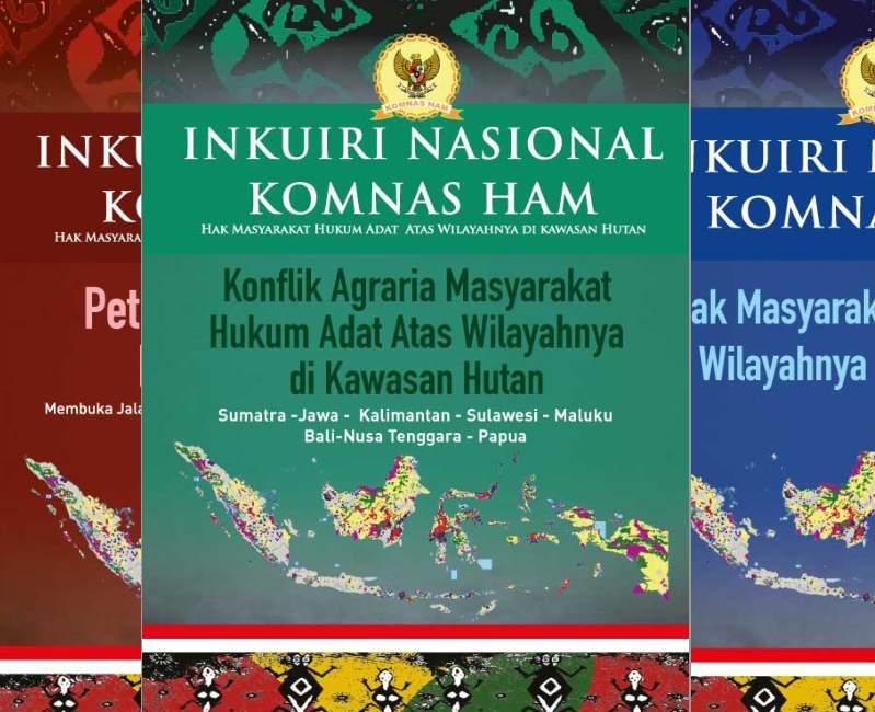 Komnas Ham Luncurkan Empat Buku Inkuiri Nasional Hak Masyarakat Adat