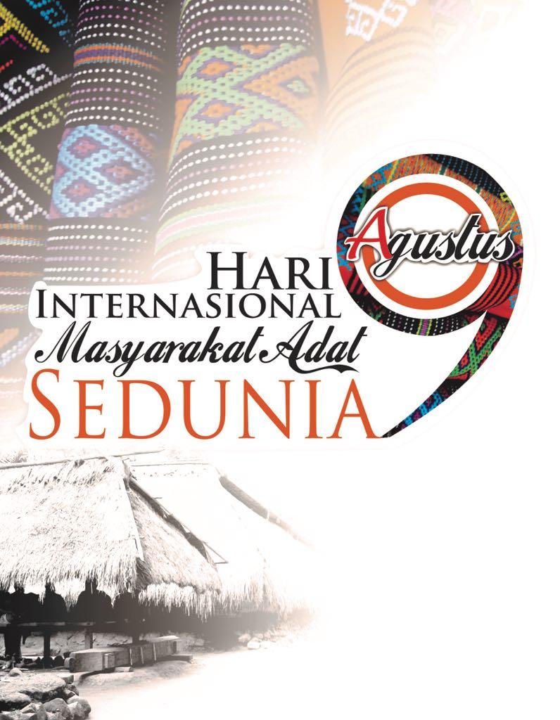 SAMBUTAN SEKRETARIS JENDRAL AMAN  PERAYAAN HARI INTERNASIONAL MASYARAKAT ADAT SEDUNIA 9 AGUSTUS 2017