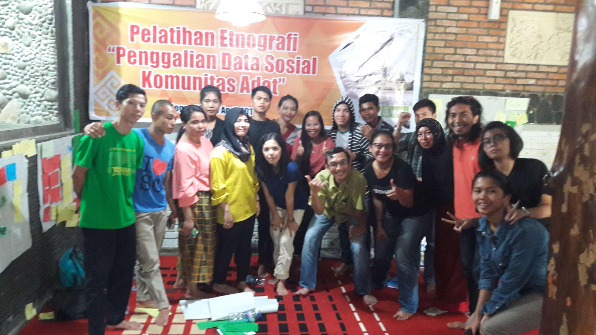 AMAN Menyelenggarakan Training Etnografi Bersama PEREMPUAN AMAN dan BPAN