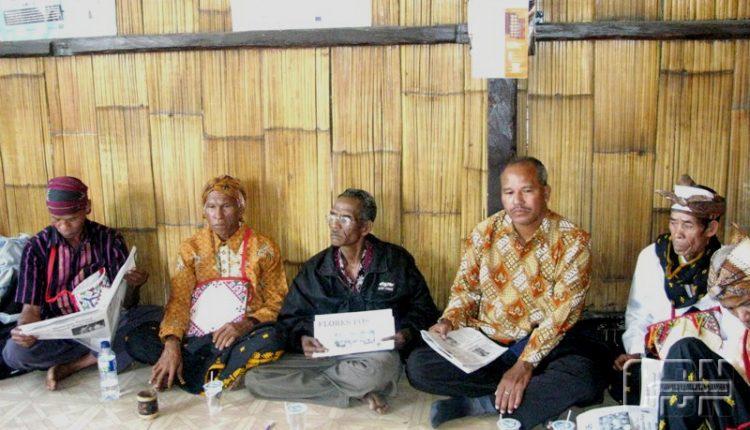 Rumah Jaga Masyarakat Adat Rendu Dibongkar Paksa Aparat Kepolisian Resort Ngada