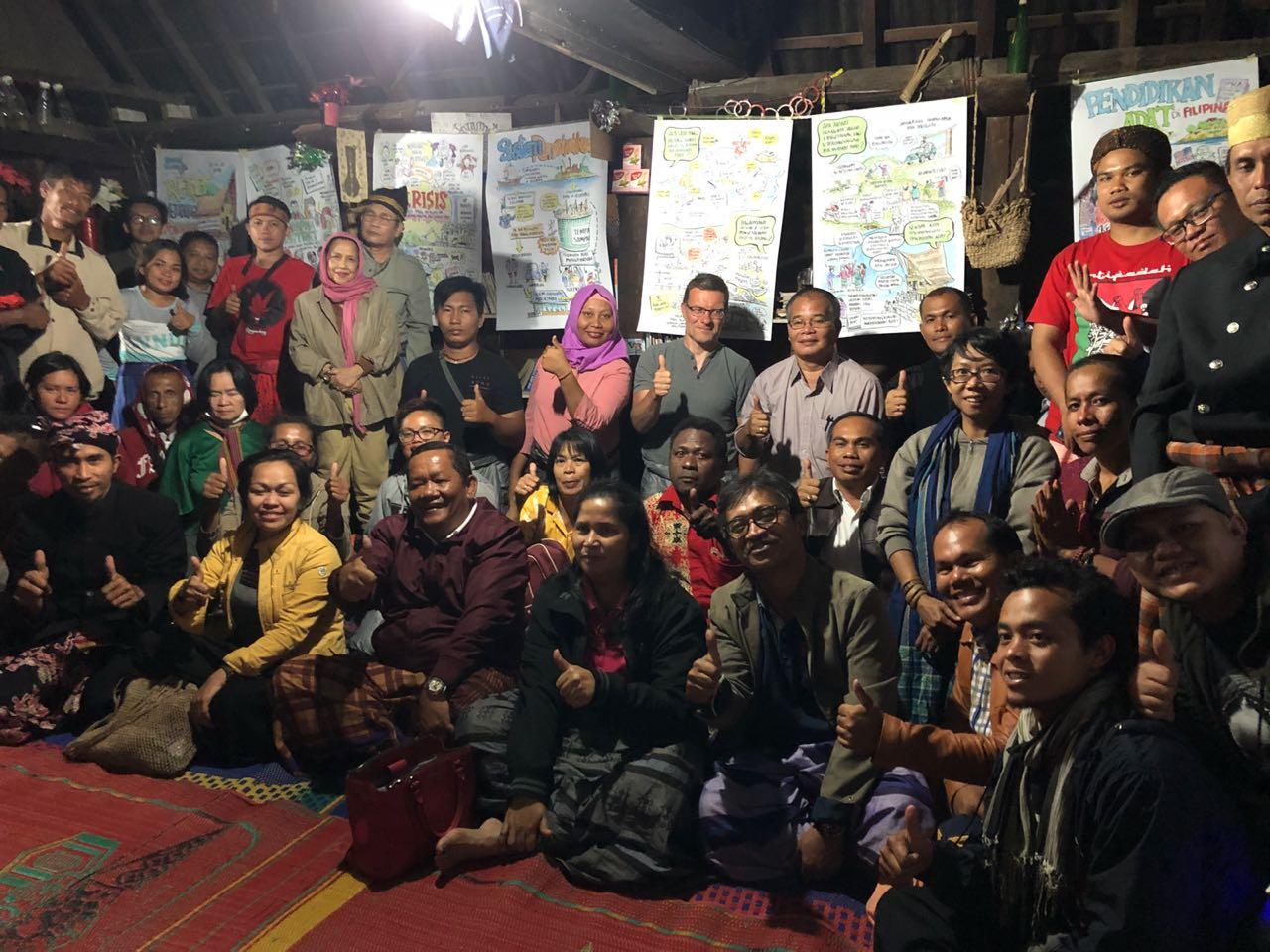 Bupati Samosir Dukung Gerakan Pendidikan Adat
