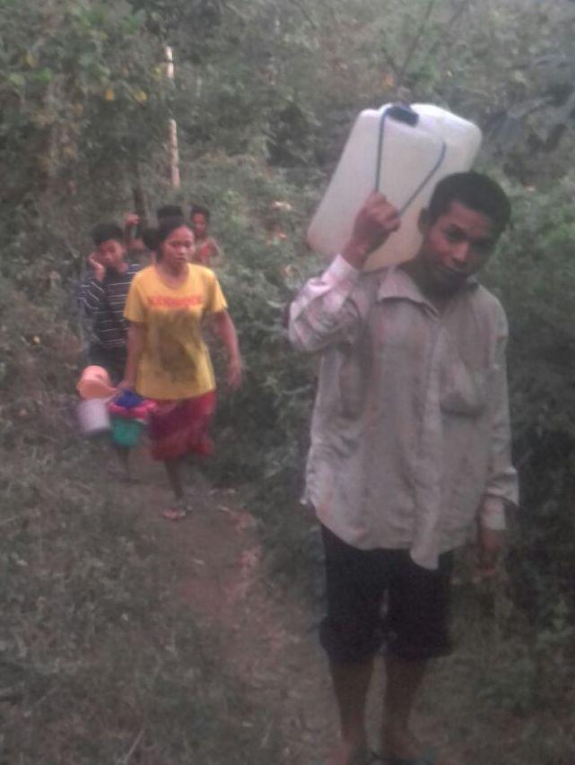 Dusun Semokan Mengalami Kesulitan Air Bersih