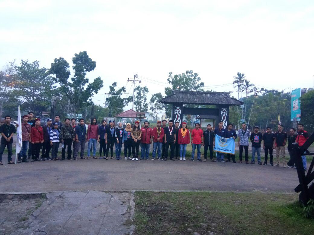 Lintas 19 Organisasi Kepemudaan Kalimantan Barat  Galang Dukungan Peduli Gempa di Lombok