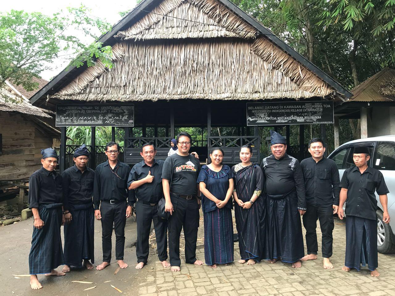 DPR RI Kawal RUU Masyarakat Adat, Tenaga Ahli Badan Legislatif DPR RI Kunjungi Masyarakat Adat Ammatoa Kajang Sulawesi Selatan