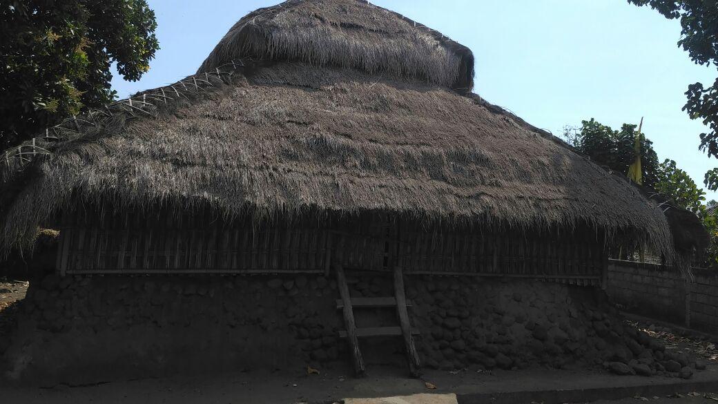 Bambu Penyelamat Masjid Kuno Bayan dari Hantaman Gempa