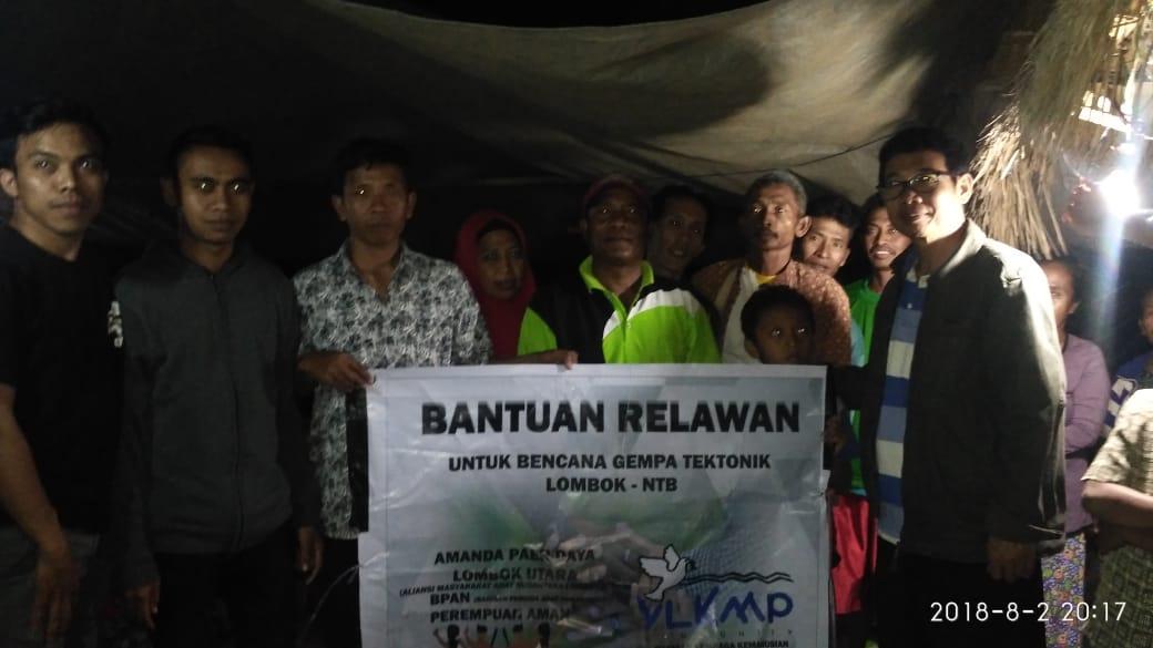 Gempa NTB: PD AMAN Paer Daya Terus Bantu Pengungsi
