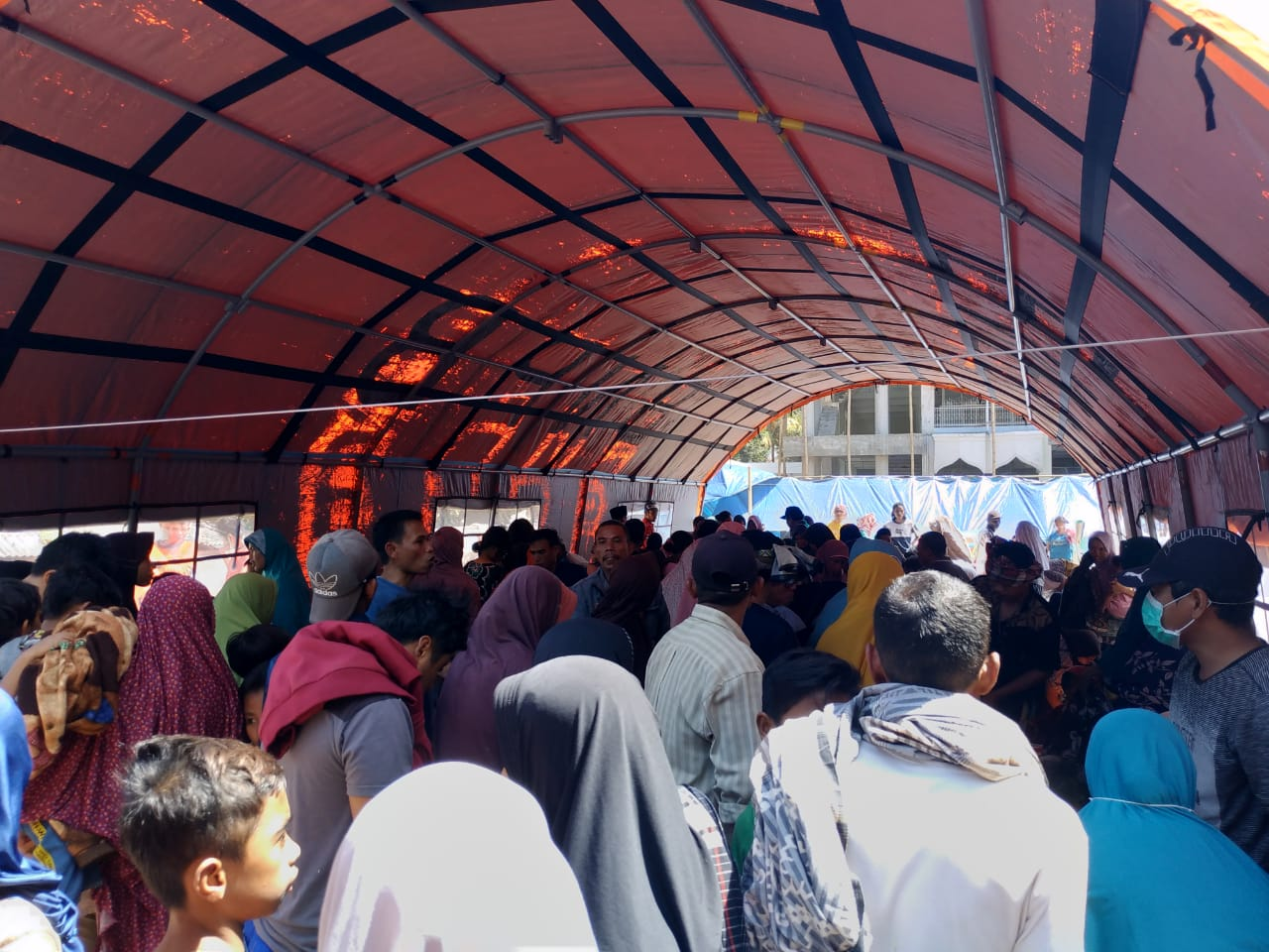 Berita Foto: Situasi Terkini Pengungsi Gempa Lombok