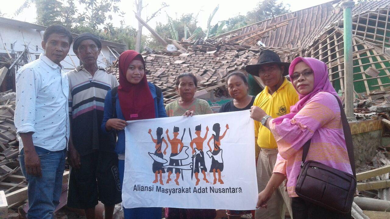 Satu Demi Satu Bantuan AMAN Peduli Gempa Lombok Disalurkan