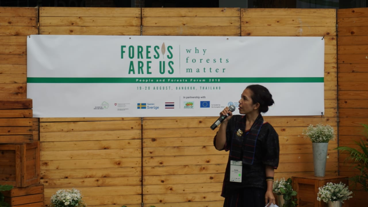 AMAN Hadiri People and Forest Forum 2018