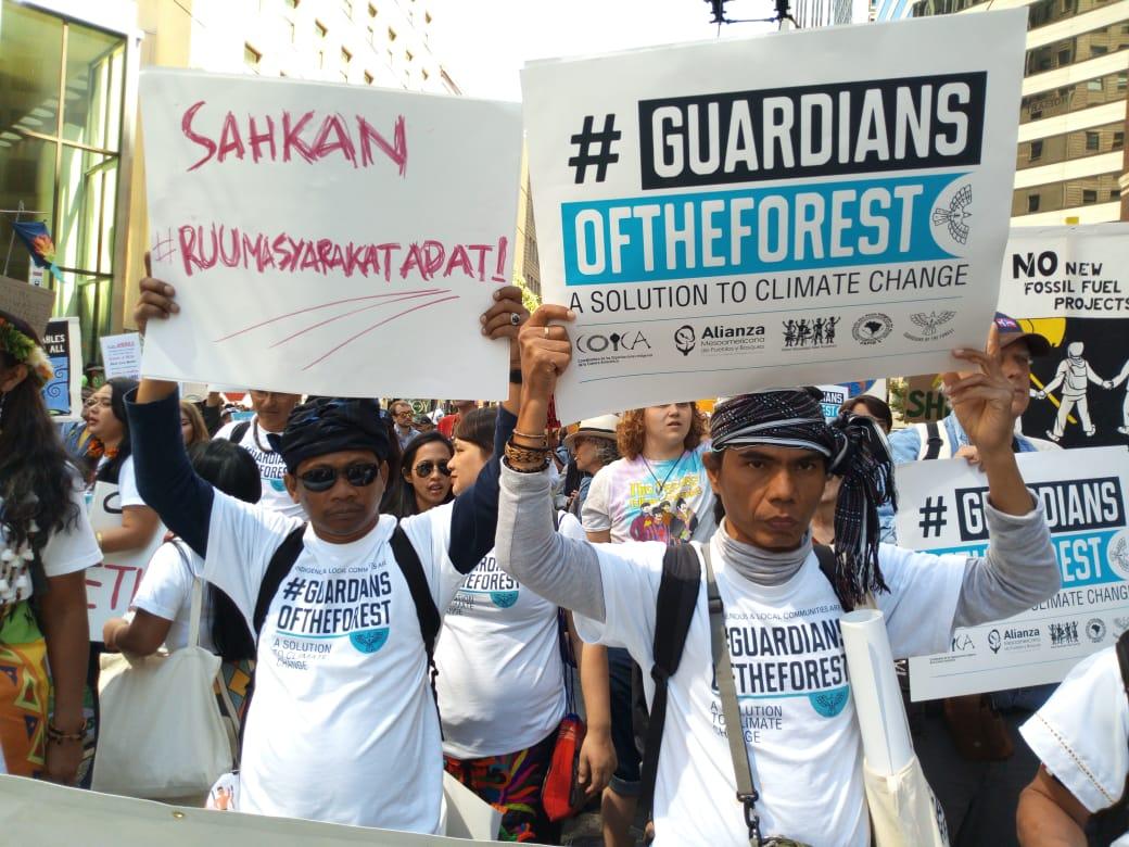 Parade Iklim Global, AMAN: Sahkan RUU Masyarakat Adat