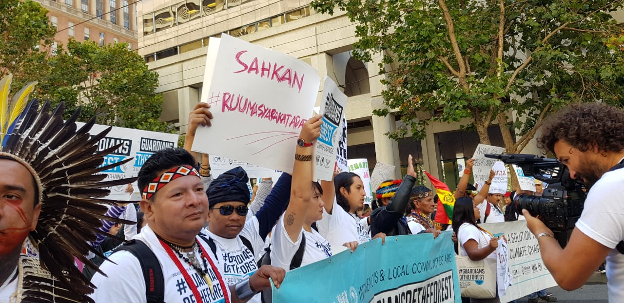Rise for Climate March, AMAN: Adopt Indigenous Peoples Bill