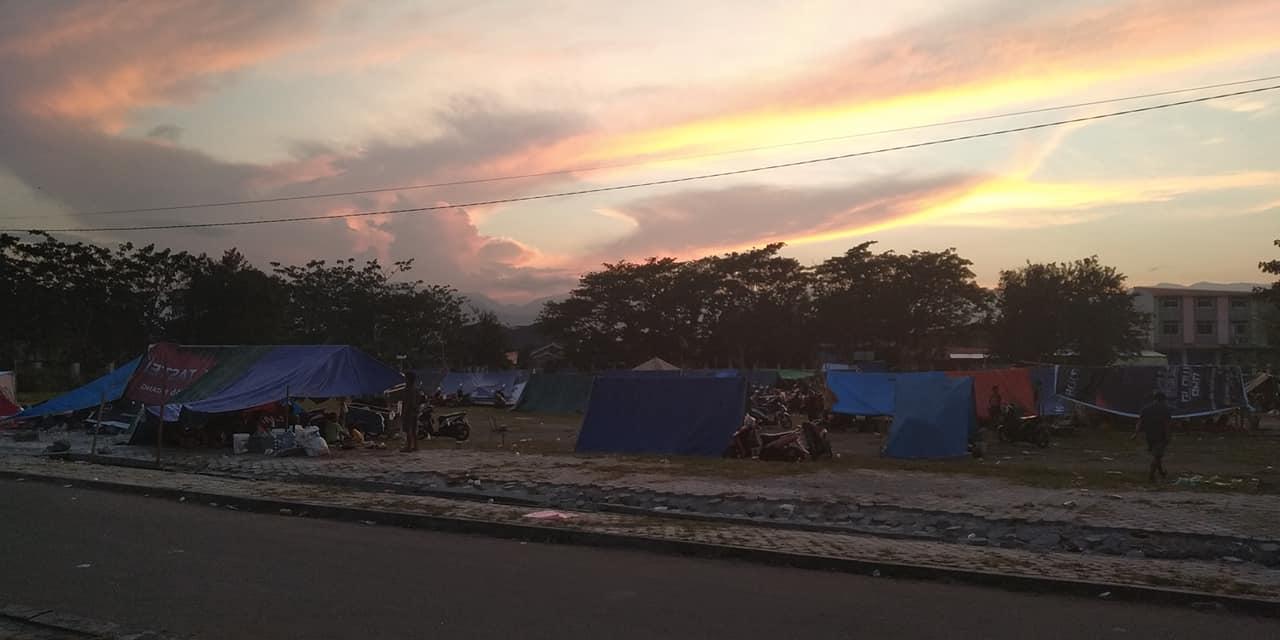 Hari Ini Posko AMAN Lakukan Pendataan Komunitas Terdampak Tsunami-Gempa Sulteng