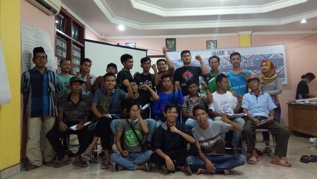 PD AMAN INHU dan LBH Pekanbaru Selenggarakan Pelatihan Paralegal untuk Pemuda Adat Talang Mamak Riau