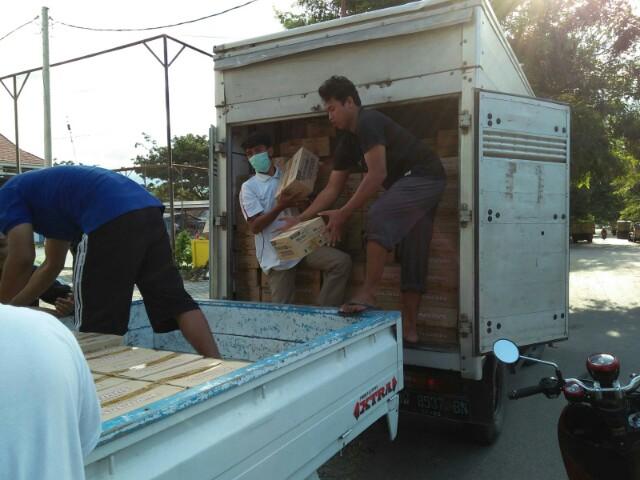 Para Pihak yang Turut Menyumbang Logistik untuk Korban Gempa Sulteng