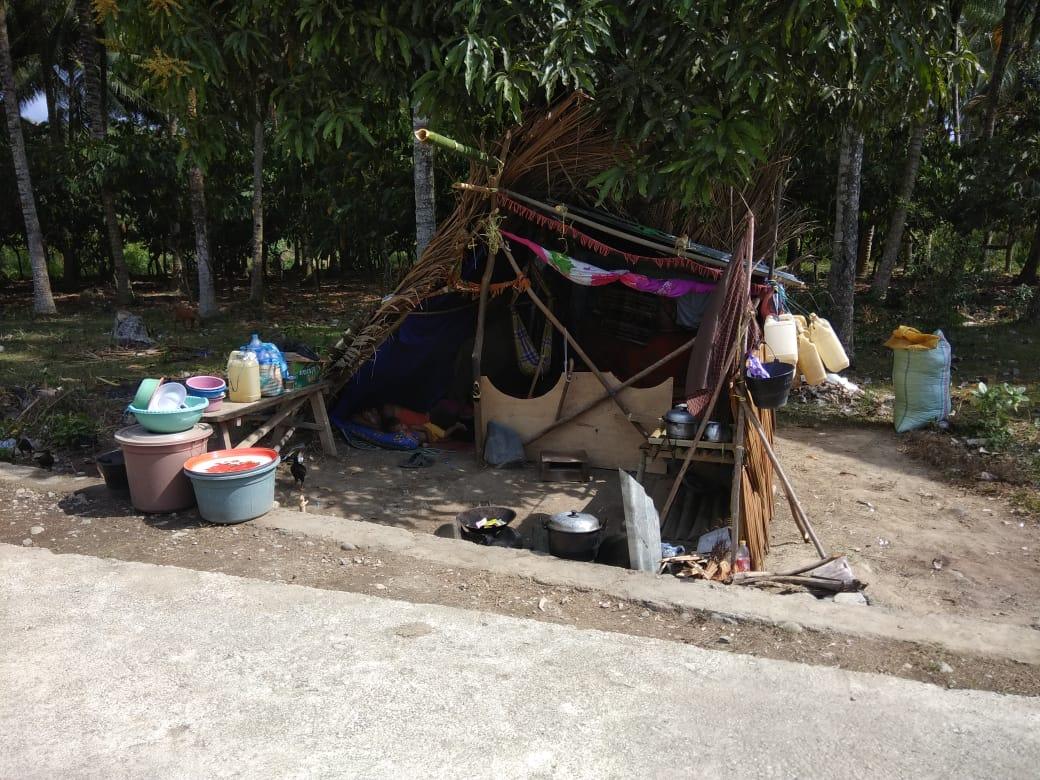 Syahban: Komunitas Adat Sangat Membutuhkan Tenda