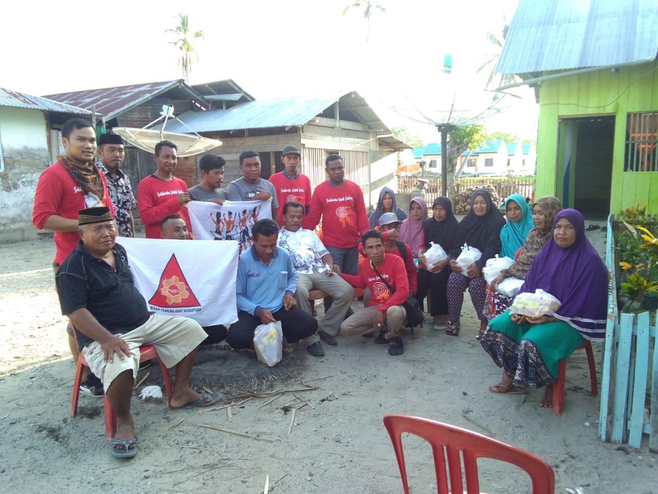 AMAN dan Sayap Organisasi Tangani Bencana Bersama di Sulawesi Tengah