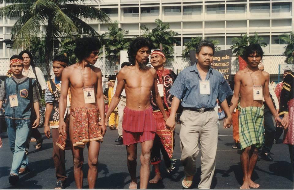 Kongres Masyarakat Adat Nusantara I;                 Gugatan Masyarakat Adat Nusantara untuk Negara Indonesia