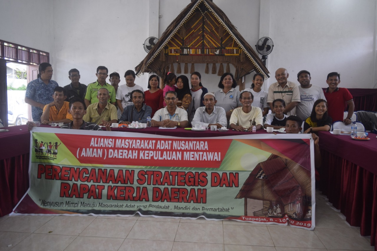 Perencanaan Strategis AMAN Daerah Mentawai