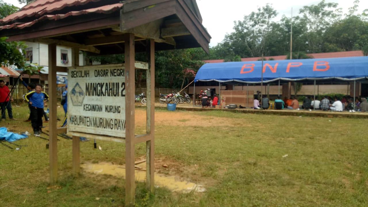 Penanganan Kebakaran Komunitas Adat Lebu di Mangkahui Mulai Berjalan
