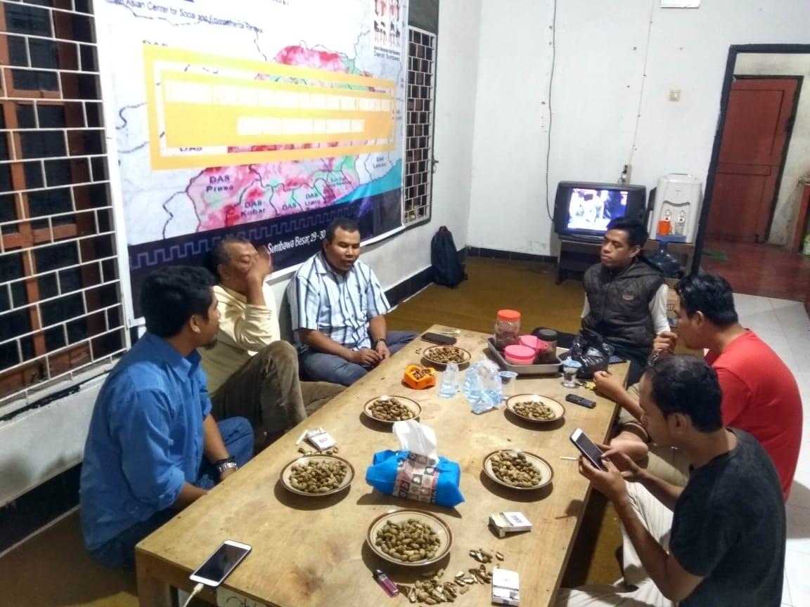 AMAN Daerah Sumbawa Bangun Diskusi Awal dengan Bakal Calon Bupati Sumbawa 2020