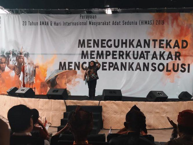 Menteri LHK Siti Nurbaya: Hak Masyarakat Adat Perlu Harmonisasi dan Artikulasi yang Baik