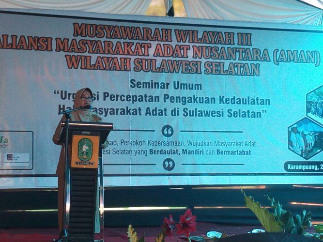 Musyawarah Wilayah III AMAN Sulawesi Selatan, Resmi Dibuka