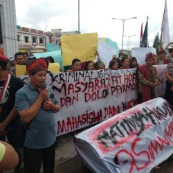 Rilis: Pengunjuk Rasa Desak Polres Simalungun Proses Hukum Pekerja TPL, Bukan Terus Menangkapi Masyarakat Adat