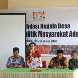 Memperkuat Sinergitas Kepala Desa Utusan Masyarakat Adat, AMAN Gelar Konsolidasi