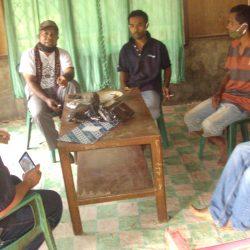 Gugus Tugas Tanggap Darurat #AMANkanCOVID19 AMAN Wilayah Nusa Bunga Bagi-bagi Masker
