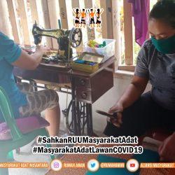 Lawan COVID-19, Desa Dodolo Mandiri Produksi Masker dan Pastikan Stok Pangan